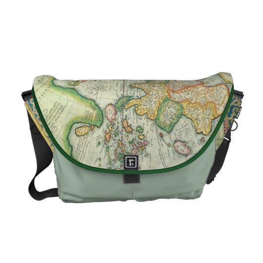 Antique Map Messenger bag