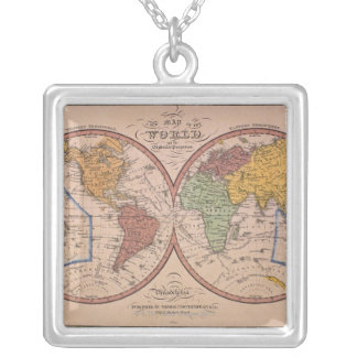 Antique Map Jewelry