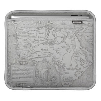 Antique Map of Africa iPad Sleeve