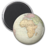 Antique map of Africa Magnet
