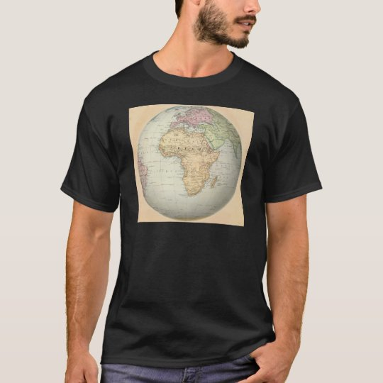 Antique map of Africa T-Shirt