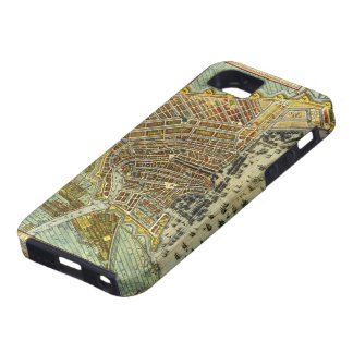 Antique Map of Amsterdam, Holland aka Netherlands iPhone SE/5/5s Case