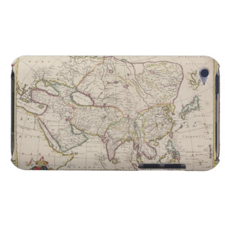 Antique Map of Asia Barely There iPod Case