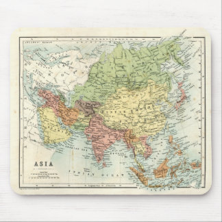 Antique map of Asia Mouse Pad