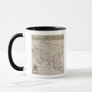 Antique Map of Asia Mug