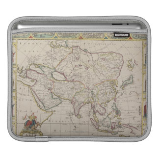 Antique Map of Asia Sleeves For iPads