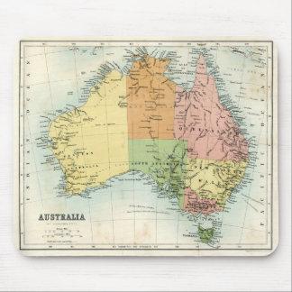 Antique map of Australia Mouse Pad