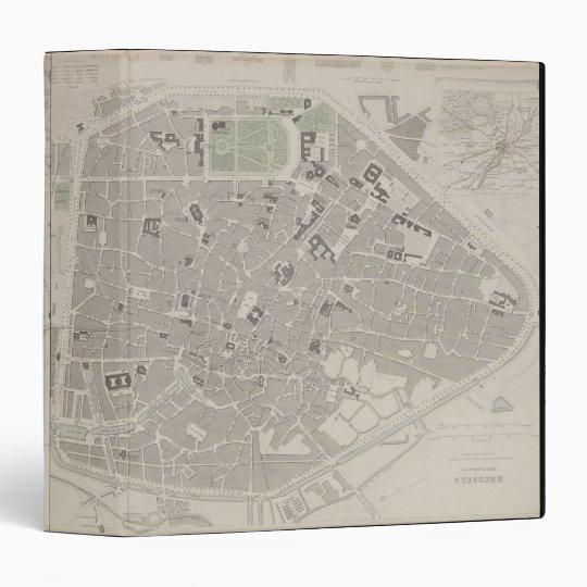 Antique Map of Belgium 2 Binder