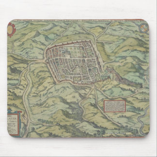 Antique Map of Calatia, Italy Mouse Pad