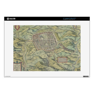"Antique Map of Calatia, Italy Skin For 15"" Laptop"