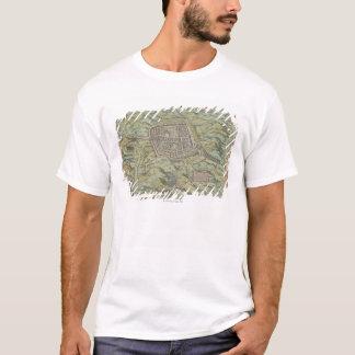 Antique Map of Calatia, Italy T-Shirt
