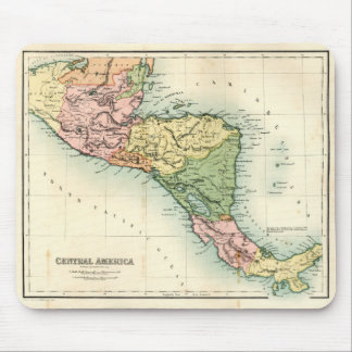 Antique map of Central America Mouse Pad
