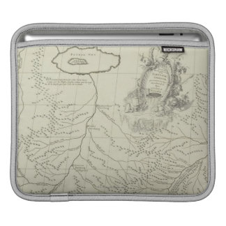 Antique Map of China Sleeve For iPads