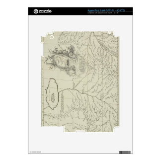 Antique Map of China Skins For iPad 3