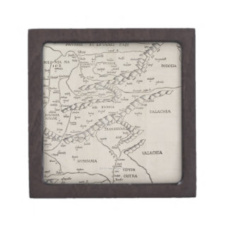 Antique Map of Eastern Europe Gift Box