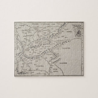 Antique Map of Eastern Europe Puzzle