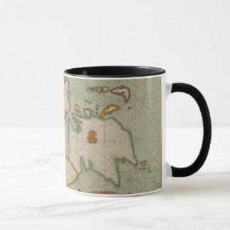 Antique Map of England, Scotland & Ireland, Mug
