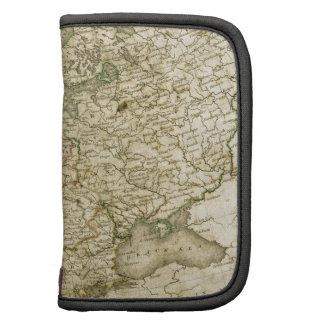 Antique Map of Europe Folio Planners