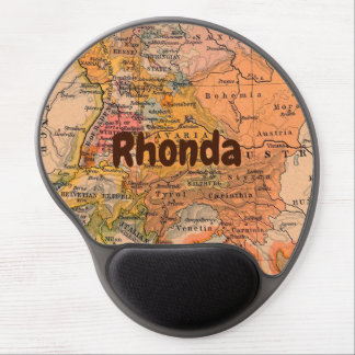 Antique Map of Europe Gel Mouse Pad