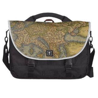 Antique Map of Europe Laptop Commuter Bag