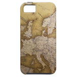Antique map of europe. Old world. iPhone 5 Case