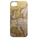 Antique map of europe. Old world. iPhone 5 Cover