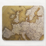 Antique map of europe. Old world. Mouse Pad