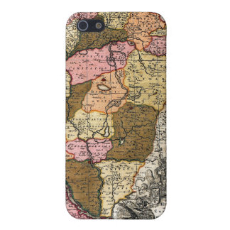 Antique Map of Hungary iPhone SE/5/5s Cover