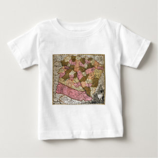 Antique Map of Hungary T-shirt