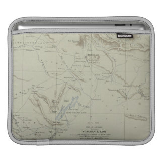 Antique Map of Iran Sleeve For iPads