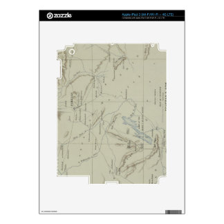 Antique Map of Iran Skins For iPad 3