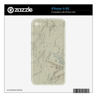 Antique Map of Iran Skin For The iPhone 4