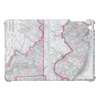 Antique Map of Maryland, New Jersey, & Delaware iPad Mini Covers
