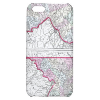 Antique Map of Maryland, New Jersey, & Delaware iPhone 5C Cases