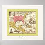 Antique Map of North America ~ 1759 Print