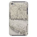 Antique Map of Norway Barely There iPod Cases
