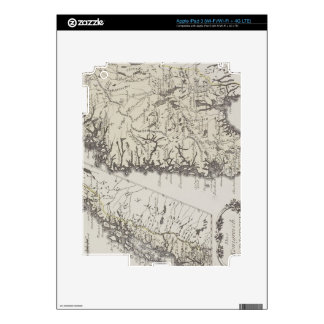 Antique Map of Norway Skins For iPad 3