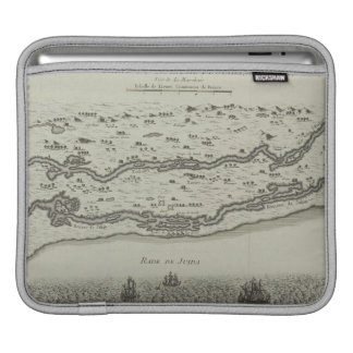 Antique Map of Persian Gulf Sleeve For iPads