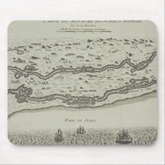 Antique Map of Persian Gulf Mouse Pad