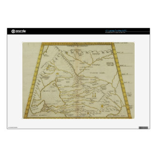 Antique Map of Russia Decals For Laptops
