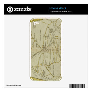 Antique Map of Russia Decals For The iPhone 4