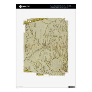 Antique Map of Russia iPad 3 Decals