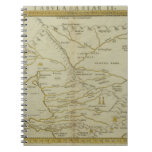 Antique Map of Russia Note Books