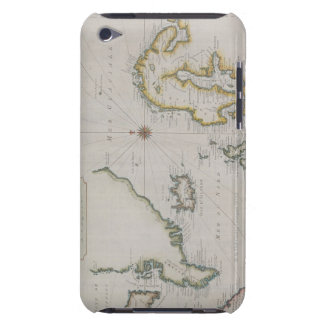 Antique Map of Scandinavia 2 Case-Mate iPod Touch Case