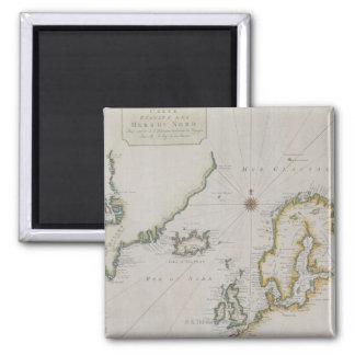 Antique Map of Scandinavia 2 Magnet