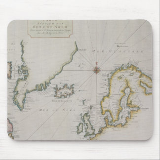 Antique Map of Scandinavia 2 Mouse Pad