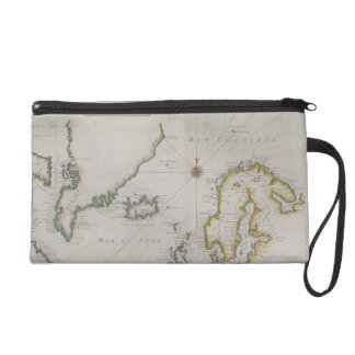 Antique Map of Scandinavia 2 Wristlet