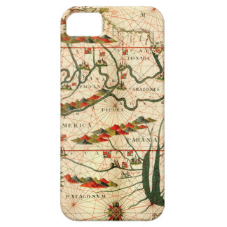Antique Map of South America iPhone 5 Cover