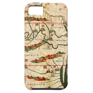 Antique Map of South America iPhone 5 Covers
