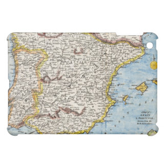 Antique Map of Spain & Portugal circa 1700's iPad Mini Cover